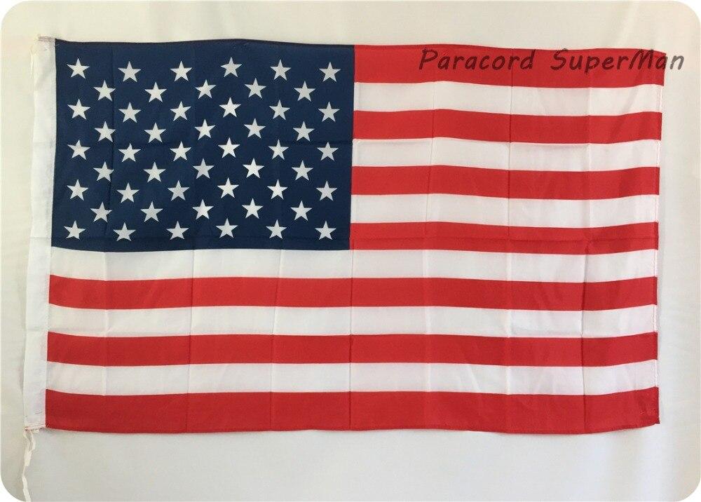 Amerika Birləşmiş Ştatları Bayraq Banner 3ft x 5ft Asma Bayraq - Komanda idman növləri - Fotoqrafiya 1