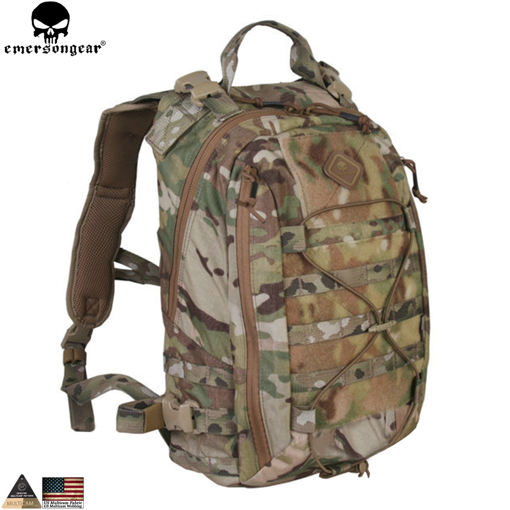 EMERSONGEAR Tactical Backpack Assault Backpack Removable Operator Pack Travelling Modular Pack Tactical Bag Multicam EM5818