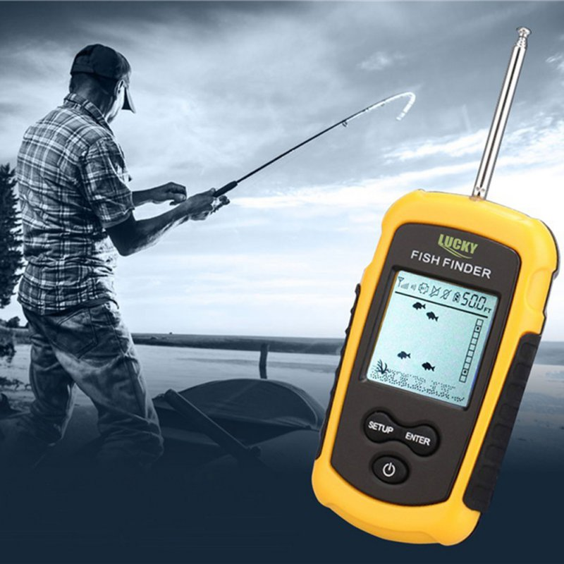 Pesca Fish Sounder Finder Sonar Camera Wireless Fish Finder Sonar Fishfinder 40m Depth Range Ocean Lake Sea Fishing lucky fishing sonar wireless wifi fish finder 50m130ft sea fish detect finder for ios android wi fi fish finder ff916