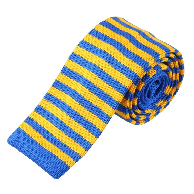 Newest Mens Boys Colourful Tie Knot Knitted Tie Necktie Narrow Skinny Woven