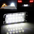 car-styling 2x LED tail number plate light For Seat Altea Arosa Ibiza Cordoba Leon Toledo NO Error with canbus