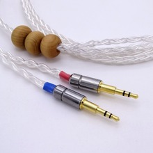 HiFi Cable Headphone Improve Cable 1.2M eight Cores 5N OCC Silver Plated For Hifman HE1000 HE400S He400i HE-X HE560 Oppo PM-1 PM-2