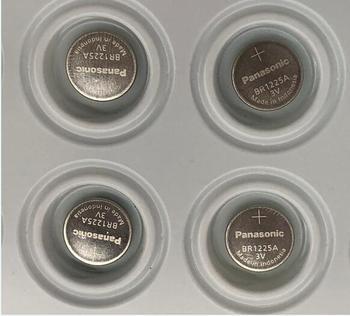 2 sztuk partia nowy dla Panasonic BR1225A BR1225 1225 3 V przycisk temperatury baterie litowe wysoka temperatura baterie baterie tanie i dobre opinie Li-ion 12 0mm*2 5mm 48mah