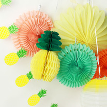 Pack of 9 Summer Party Decoration Set