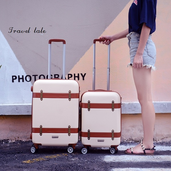 CARRYLOVE Retro Classical Fashion 20/24/28 Inch Rolling Luggage Spinner Brand Travel Suitcase Unisex Luggage