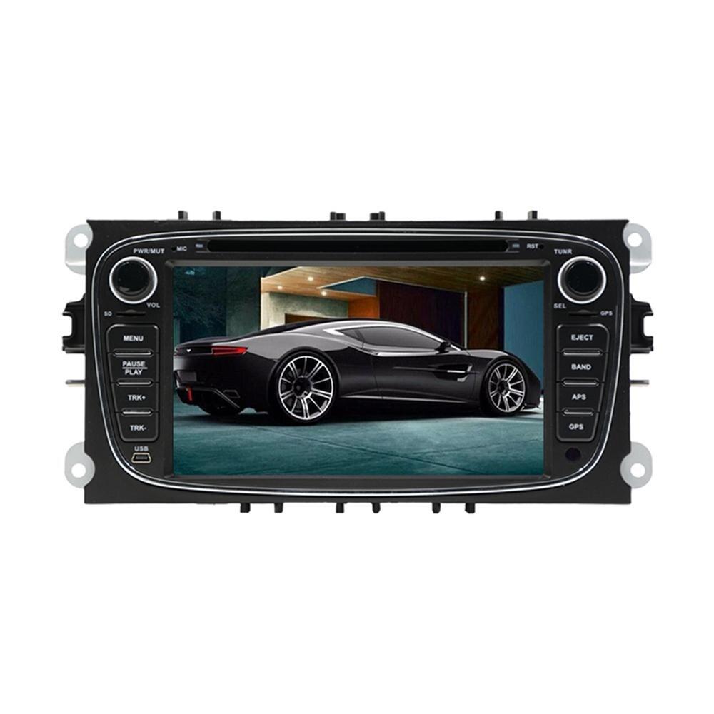 2din 7 pouces Quad/Octa Core HD Android 8.1 lecteur DVD de voiture pour Ford Mondeo 2008-2010 Galaxy avec Radio stéréo GPS Navigation