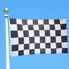 Black and White Plaid Banner 3*5ft Car Racing flag 90*150cm Racing Checkered Flags Motorsport Racing Banner Home Decor