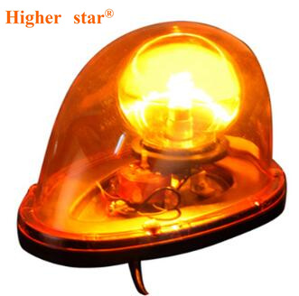 Higher star 25W car halogen Rotate flashing beacon emergency,warning light for police ambulance fire truck,waterproof
