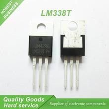 10pcs/lot LM338T LM338 TO-220 high-current adjustable integrated voltage regulator new original