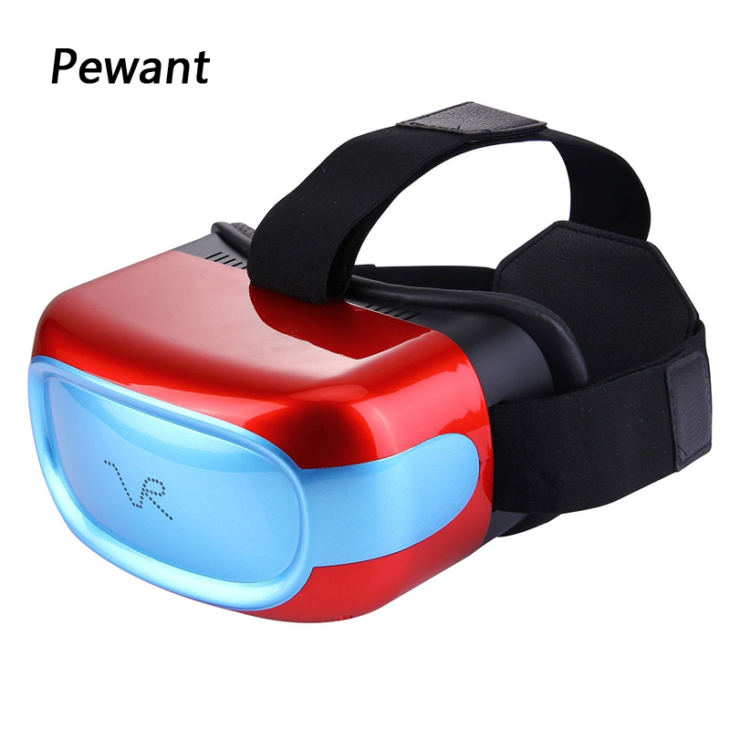 2017 New Arrival Pewant VR All In One Virtual Reality Glasses 2D 3D Headset With Tablet PC CPU Quad Core DDR3 Anti Blue Laser