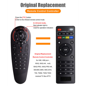 Image 5 - Voice Search Air Mouse 33 Keys Full key IR Learning Gyroscope Google Assistant 2.4G Smart Remote Control for X96 Android TV Box