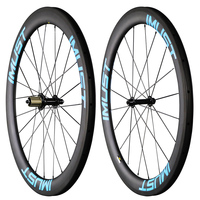 Fast 56 IMUST carbon road bike wheelset 56mm rim depth 25mm toroidal profile clincher tubuless ready U shape AERO