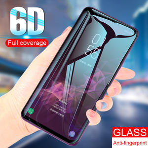 Protective Glass on the For Samsung Galaxy S9 S8 Plus S6 S7 Edge Note 8 9 Tempered Screen Protector 6D Curved Edge S9 S8 Glass