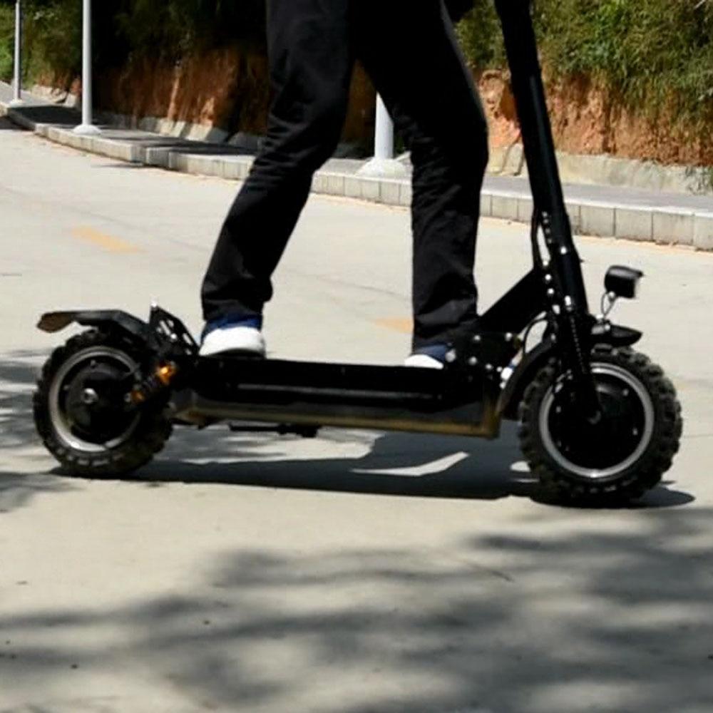 2 Rad Fett Reifen Citycoco Gleiten 11 Zoll Elektrische Fahrrad Skateboard Patinete Eletrico 3200 W Dual Motor Mit 85 Km/h Verrückte Geschwindigkeit Professionelles Design Rollschuhe, Skateboards Und Roller
