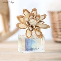 35 ml Frangrance מפזר עם מיובשים בעבודת יד פרח לקישוט בית 12.3*5.1*18.5 ס