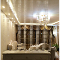 NEW HOT Crystal Bead Curtains for Living Room Luxury Round Crystal Diamond Blinds Wedding Decor Curtains for Bedroom