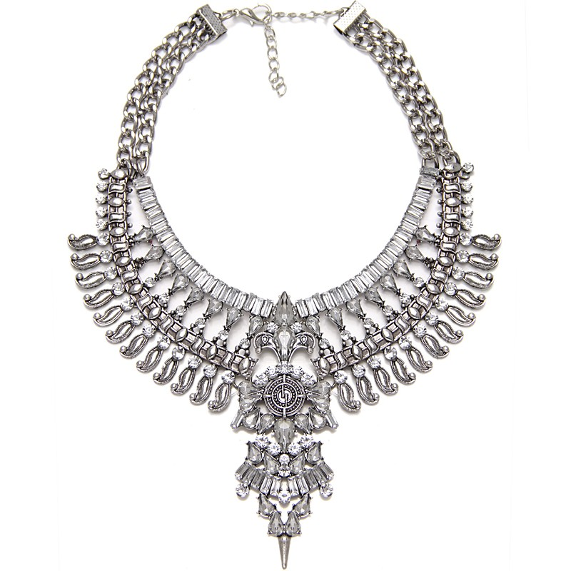 Evening dress necklace extenders