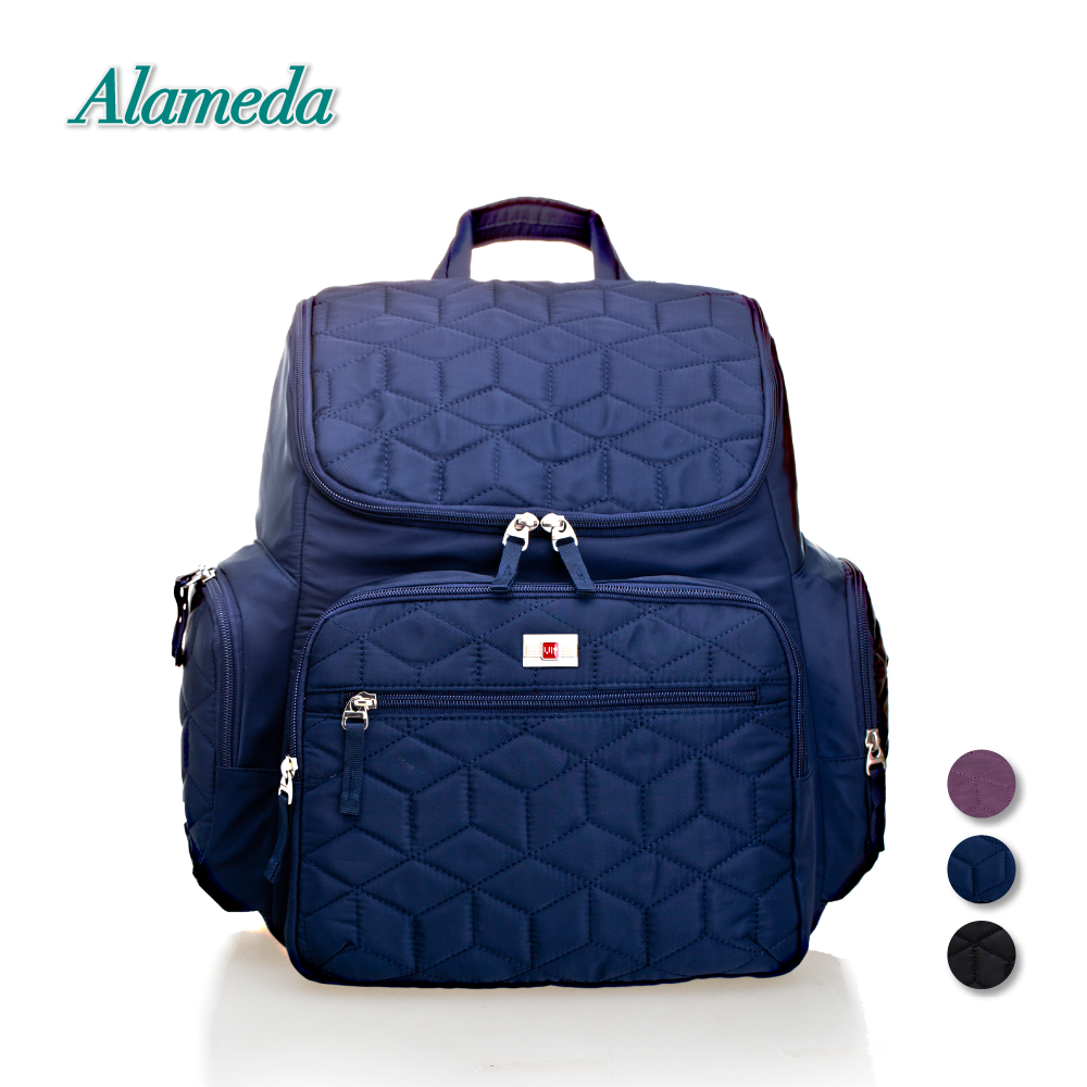 New Fashion Maternity Mummy Bag Solid Diaper Backpack Wide Opening Baby Bag Large Travel Nappy Bag