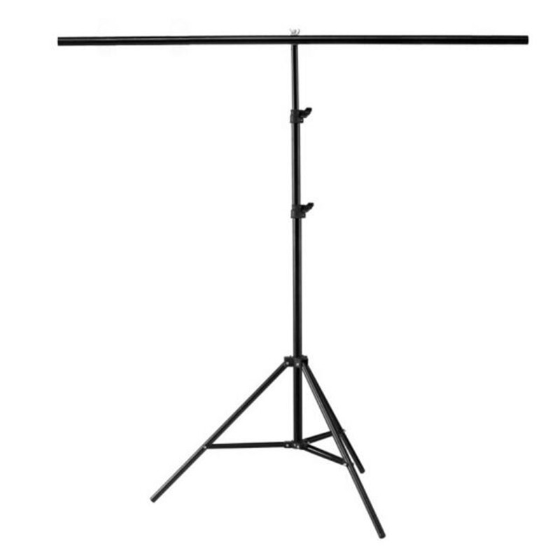 T type Photography Photo Background Holder Backdrops Adjustable Support System Stands For Photo Video Studio Accessories 2x2m