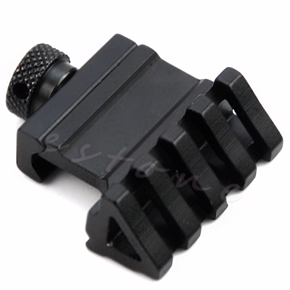 45 Degree Angle Tactical Offset 20mm Weaver Rail Mount Quick Picatinny Release Guide Bracket