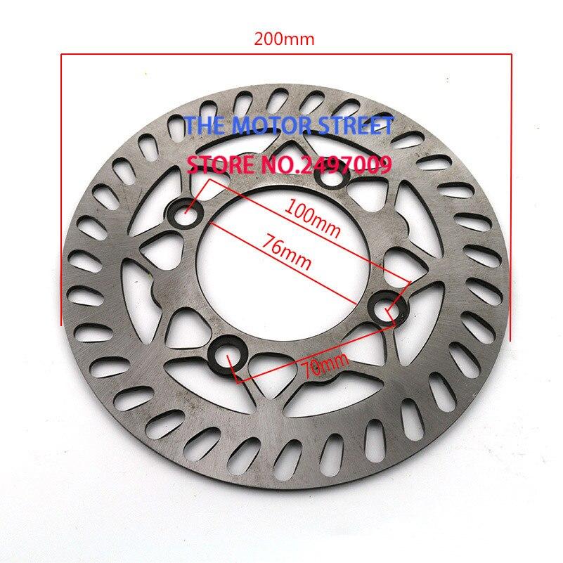 Бесплатная доставка 200 мм задний тормозной диск дисковый ротор для 125cc 140cc 150cc 160cc BES колеса Dirt Bike Quad Мотоцикл Мотокросс
