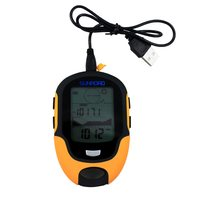 Weather Forecast LED Torch Multifunction LCD Digital Altimeter Barometer Compass Thermometer Hygrometer FR500
