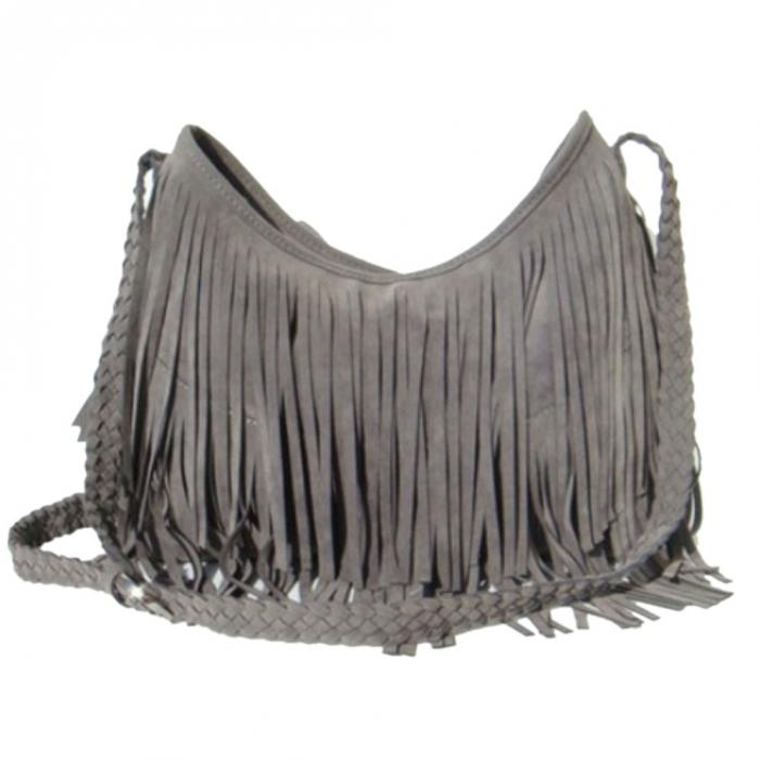 Hot Fashion Women S Suede Weave Tassel Shoulder Bag Messenger Fringe Handbags Lt88 In Bags From Luggage On Aliexpress Alibaba