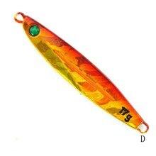1PCS 17g Jig Metal Spoon Fishing Lure Shore Cast Laser Iron Lure Isca hard bait jigging lure sea fishing equipment