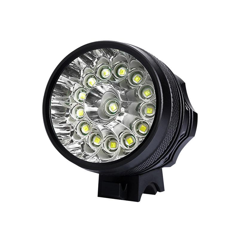 Waterproof Alloy Bike Front Lamp Bike Flashlight Bicycle Headlight For Hiking AU/UK/EU/US Plug(China)