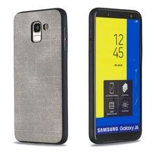For Coque Samsung J4 J6 Case Luxury Soft Denim And TPU 2 in 1 Funda Plus Capa Phone