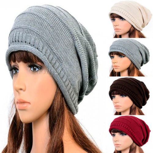 2017 winter women beanie Skullies men Hiphop hats knitted hat,baggy crochet cap,bonnets femme en laine homme,gorros de lana 2017 new women ladies cable knitted winter hats bonnet femme cotton slouch baggy cap crochet beanie gorros hat for women