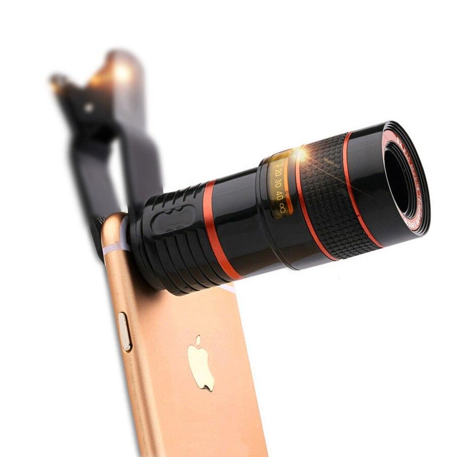 imágenes para De alta Definición Universal de 8x teleobjetivo cámara telescópica de la lente Para el iphone 6 6 s Plus 5S SE 7 7 Plus/Samsung Galaxy S6 S7 Borde Plus