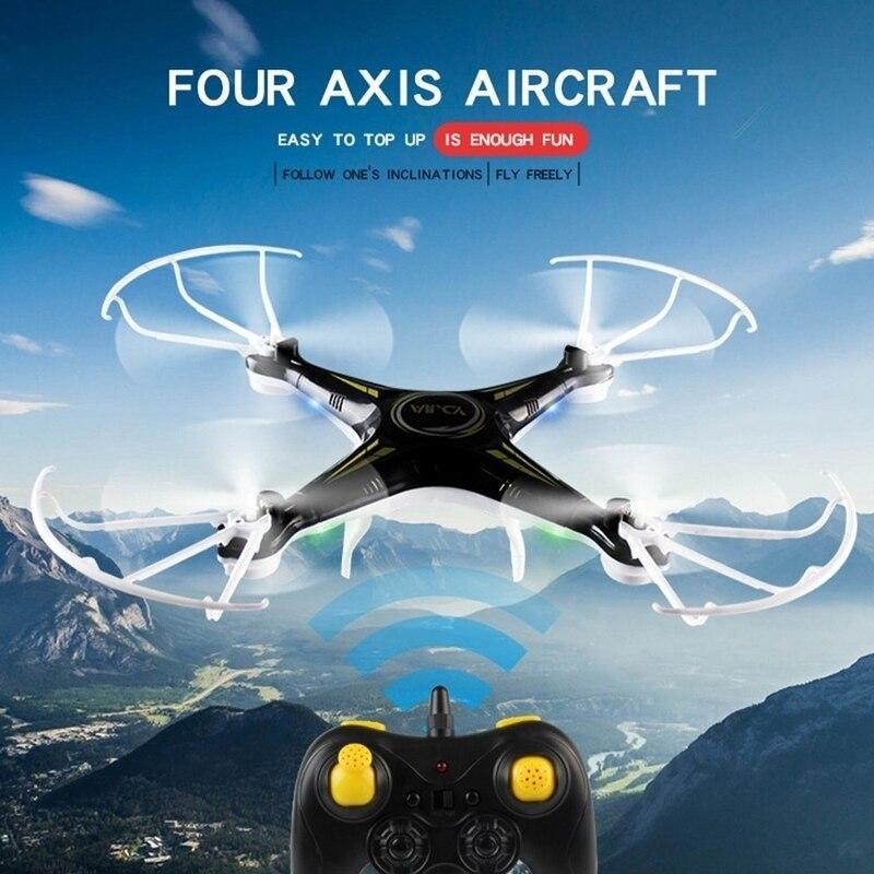 WiFi Drone télécommande quadrirotor 720P HD caméra hélicoptère enfants Selfie Drone noir meilleurs cadeaux pour les garçons - 3