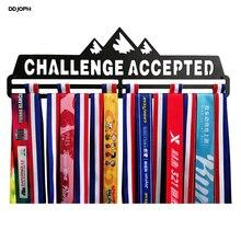 Вешалка для медалей для бега, велоспорта, плавания, марафона Спорт медаль держатель для 30 + медали вызов принимаются медаль Дисплей Вешалка