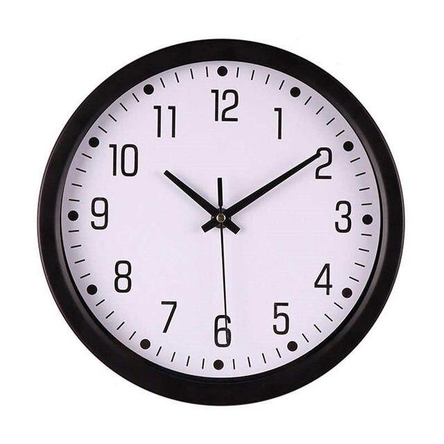 Clock Silent Sweep Modern Graceful Desk Creative Simple Digital Clock Mechanical Clock Fashion Hot New Feb11