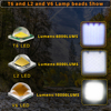 LED Flashlight Tactical Flash Light Kit 3