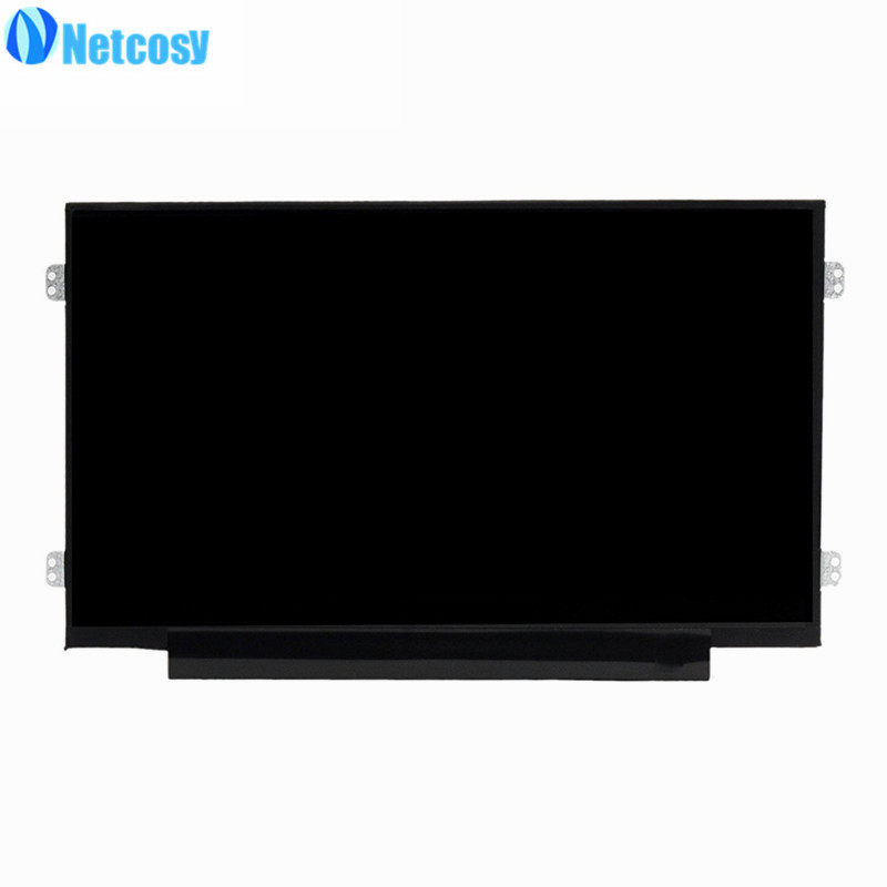 Netcosy AUO B101AW06-V.1 LCD Display screen Replacement Laptop LCD Screen 10.1 Slim lp116wh2 m116nwr1 ltn116at02 n116bge lb1 b116xw03 v 0 n116bge l41 n116bge lb1 ltn116at04 claa116wa03a b116xw01slim lcd