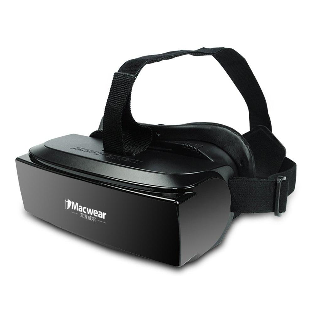 Newest <font><b>iMacwear</b></font> V1 80 Inch Personal Private 3D <font><b>Mobile</b></font> <font><b>Theater</b></font> VR Virtual Reality <font><b>Glasses</b></font> TF card USB Data Transmission