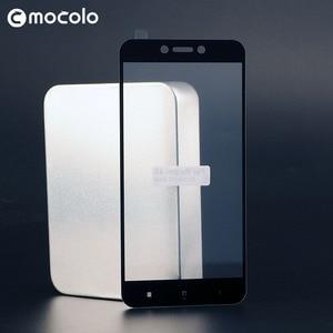 Image 5 - Für Xiaomi Redmi 4X Screen Protector Original Mocolo Volle Abdeckung 9H Gehärtetem Glas film für Redmi 4X Glas Bildschirm protector