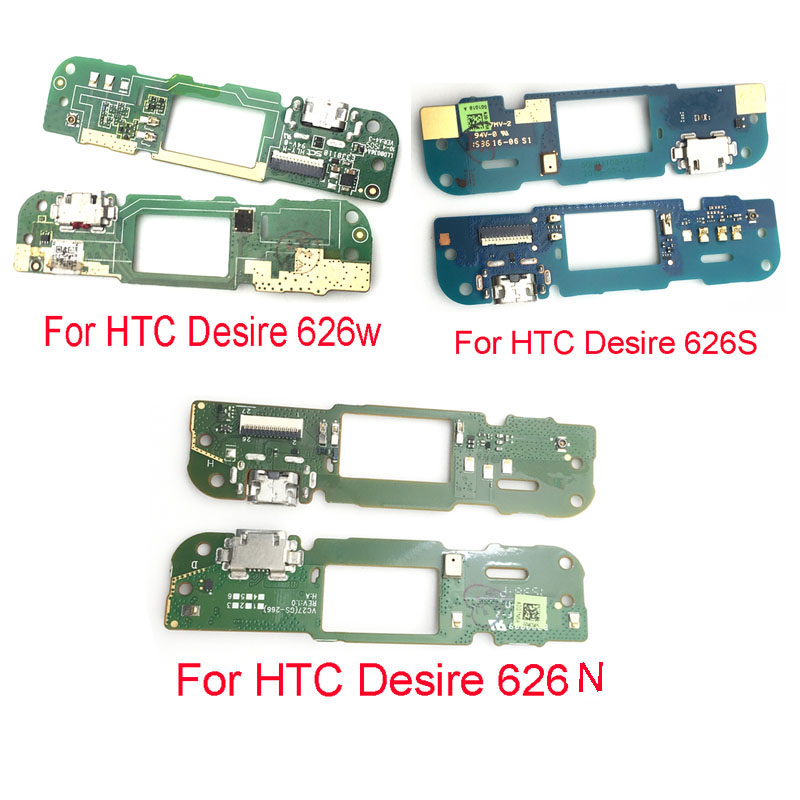 For HTC Desire 626 626G 626N 626S 626W USB Charging Port Dock PCB Charger Connector Microphone Flex Cable Board Replacement