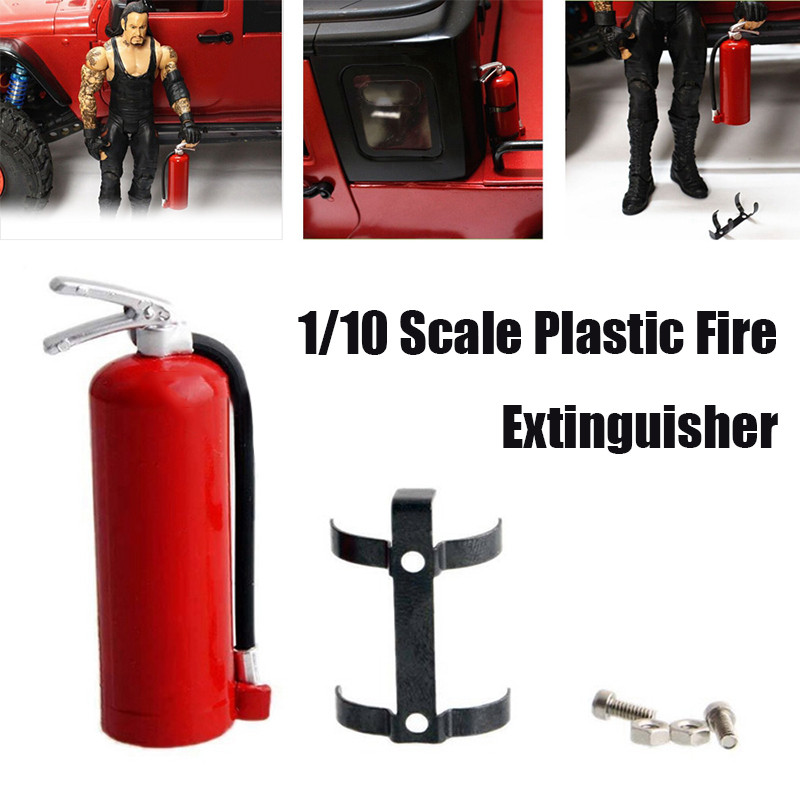 New 1:10 Simulated Climbing Car Crawler Accessories Plastic Mini Fire Extinguisher Accessories AXIAL SCX10 TRX4 D90 CC01 ...