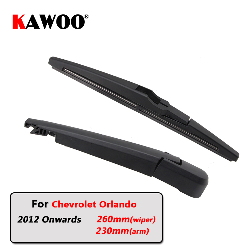 KAWOO Car Rear Wiper Blade Blades Back Window Wipers Arm For Chevrolet Orlando (2012 ) 260mm Auto Windscreen Blade Styling|Windscreen Wipers|Automobiles & Motorcycles - title=
