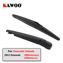 KAWOO Car Rear Wiper Blade Blades Back Window Wipers Arm For Chevrolet Orlando (2012-) 260mm Auto Windscreen Blade Styling