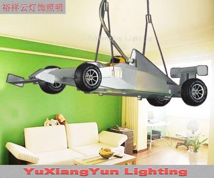 LED Formula droplight sports car/children room/bedroom/study little sitting room, etc for children droplight