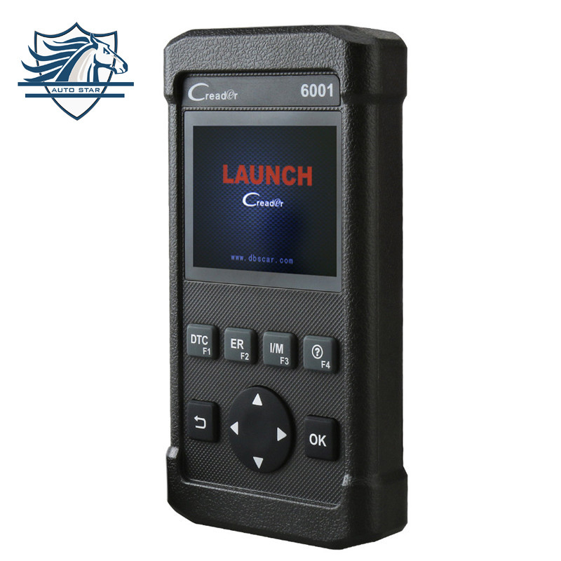Hot Sale Launch CReader CR6001 OBD2 Scan Tool Code Reader with Control of the on-Board System and Print data via PC Auto scanner [launch distributor] original launch creader v obd2 code reader scanner creader v plus obdii diagnostic tool update free online