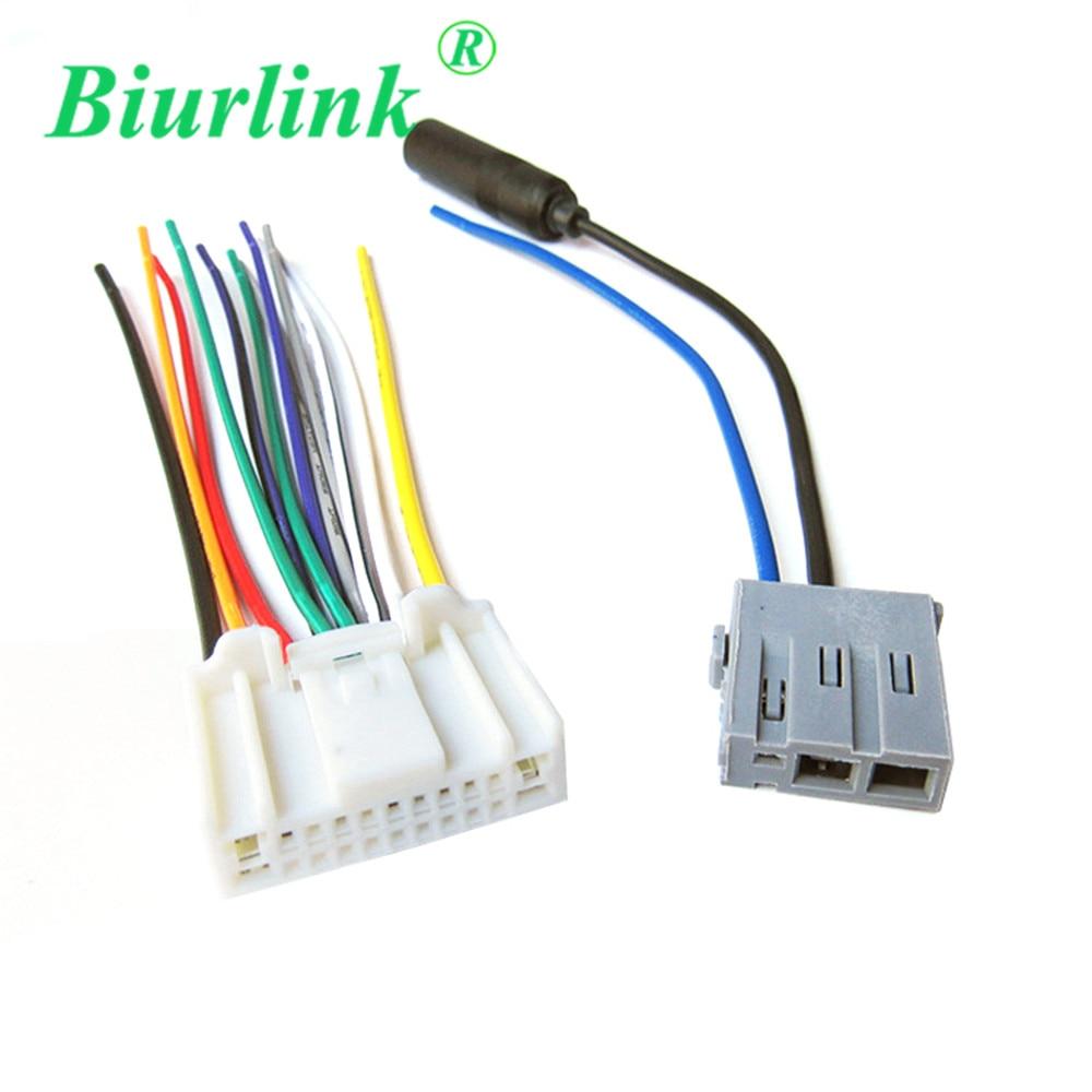 Fil de câble d'antenne de harnais de Biurlink pour Nissan Qashqai Livina Tiida