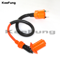 motorcycle Scooter High Performance Ignition Coil High Spark Plug For GY6 49cc 50cc 125cc 150cc Chinese Scooters Racing Coil