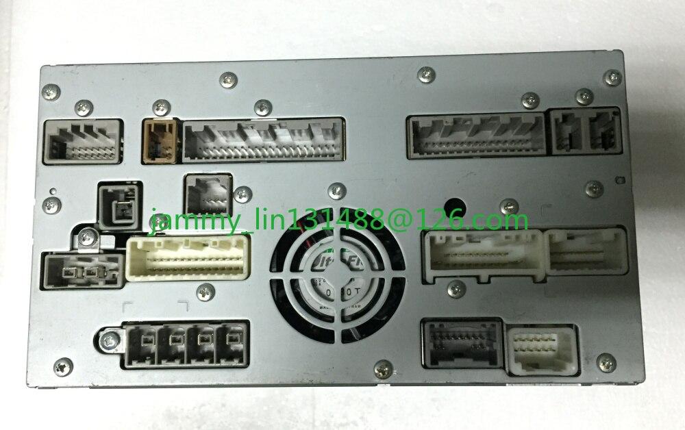 Dvd-Navigation-Unit Infiniti MASTER HDD G37 JF03A NAU-PG8411JP UQW1329 Clarion 25915