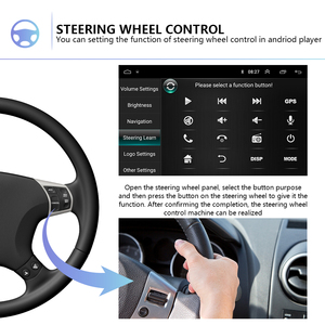 """Image 2 - Podofo 2din 7""""HD car radio Android 8.1 Car Multimedia Player GPS navi WIFI ISO Android Mirrorlink 2Din for Universal car stereo"""