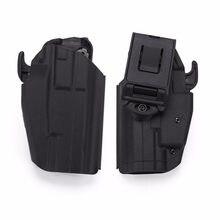 Wosport tático arma coldre mão direita rápida rmove kit pistola coldre para glock 17 23 usp ruger vp9 tp24 sig p226 pv40